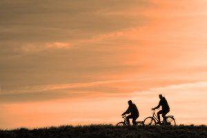 Fahrraddfahren in der Alfseeregion