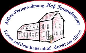 Alfsee Ferienwohnung Hof Temmelmann Logo