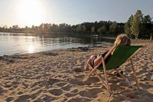 Alfsee Strandbad, Sandstrand