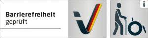 Logo barrierefrei geprüft